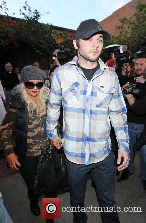 Christina Aguilera and her new boyfriend, Matt Rutler,...