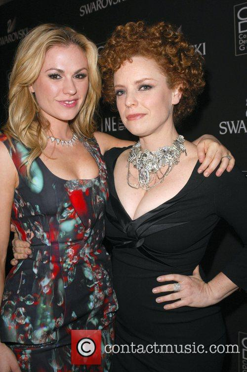 Anna Paquin and Audrey Fisher