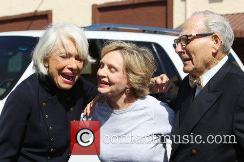Carol Channing, her husband Harry Kullijian and Florence...
