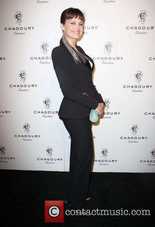Carla Gugino Fashion Designer Gilbert Chagoury hosts his...