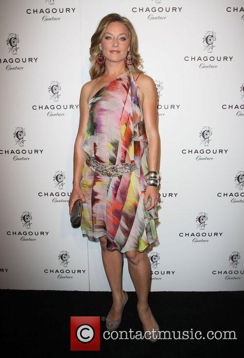 Elisabeth Rohm Fashion Designer Gilbert Chagoury hosts his...