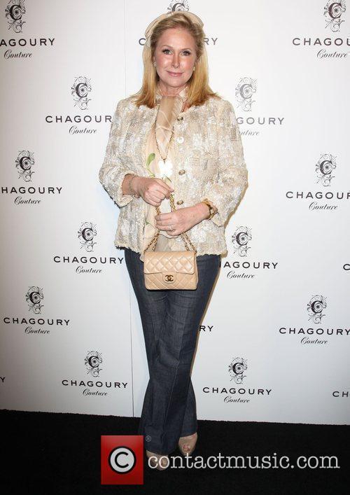 Kathy Hilton Fashion Designer Gilbert Chagoury hosts his...