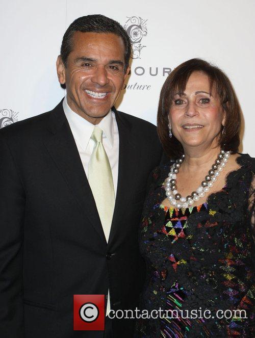 Los Angeles Mayor Antonio Villaraigosa, Beatrice Chagoury Fashion...