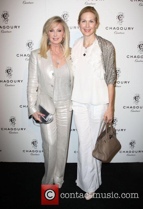 Morgan Fairchild and Kelly Rutherford Fashion Designer Gilbert...