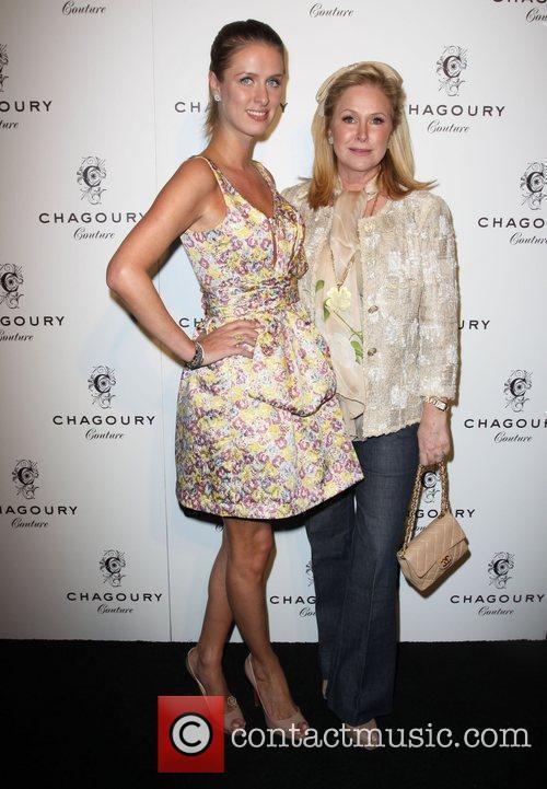 Nicky Hilton and Kathy Hilton Fashion Designer Gilbert...