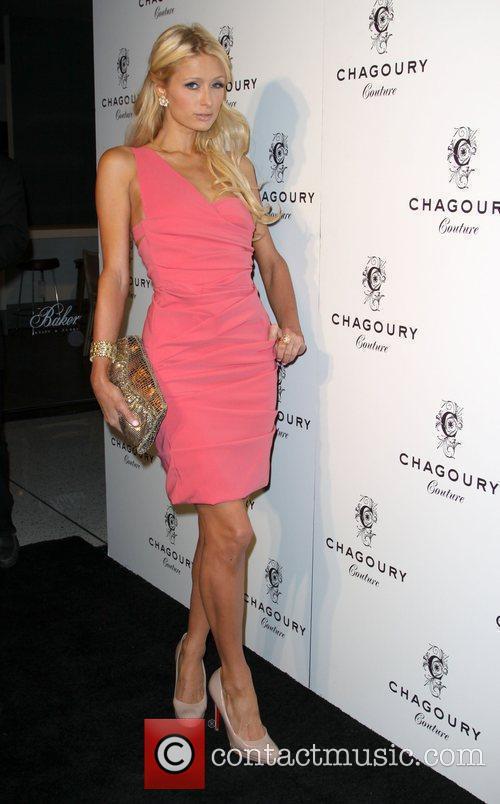 Paris Hilton Fashion Designer Gilbert Chagoury hosts his...