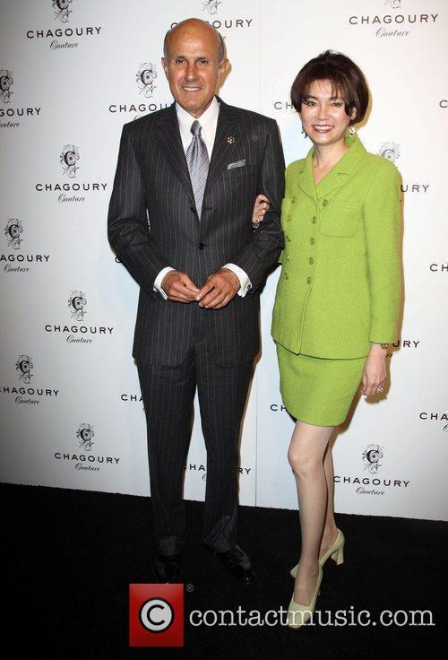 Sheriff Lee Baca, wife Carol Baca  Fashion...
