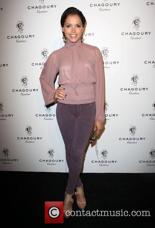 Susie Castillo Fashion Designer Gilbert Chagoury hosts his...