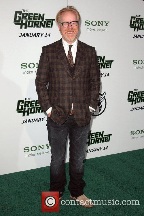 Adam Savage Premiere Of Columbia Pictures The Green...