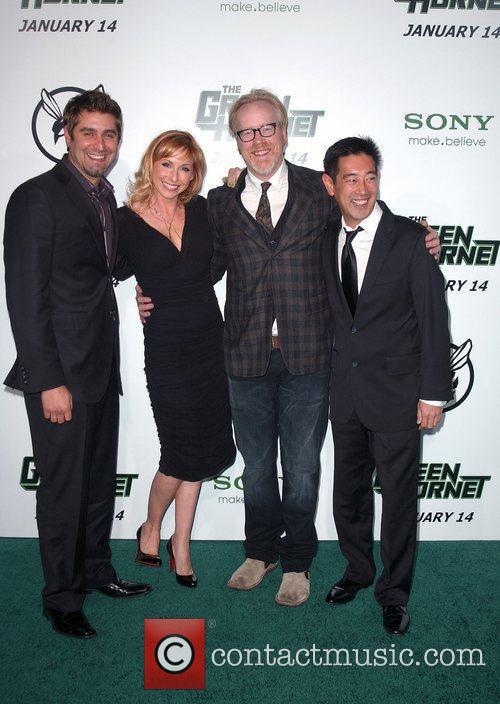 Tory Belleci, Kari Byron, Adam Savage and Grant...