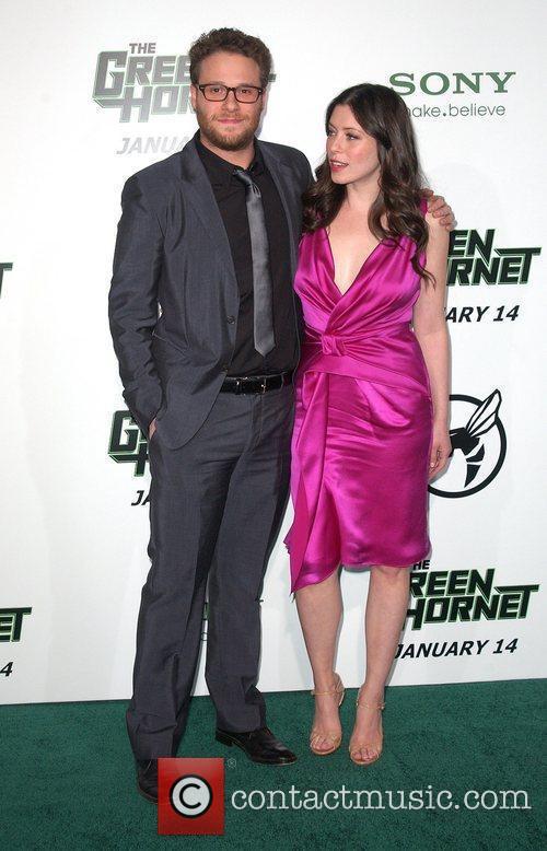 Seth Rogen and Lauren Miller 1