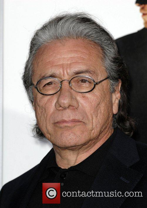 Edward James Olmos  Premiere Of Columbia Pictures...