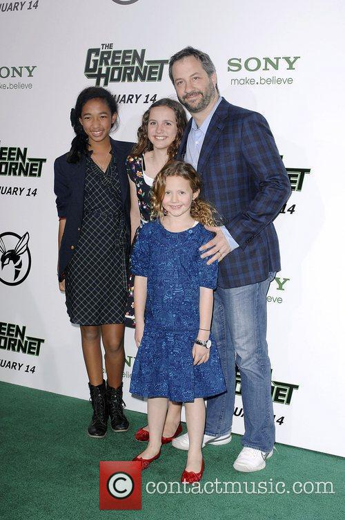 Judd Apatow and Guests Premiere Of Columbia Pictures...