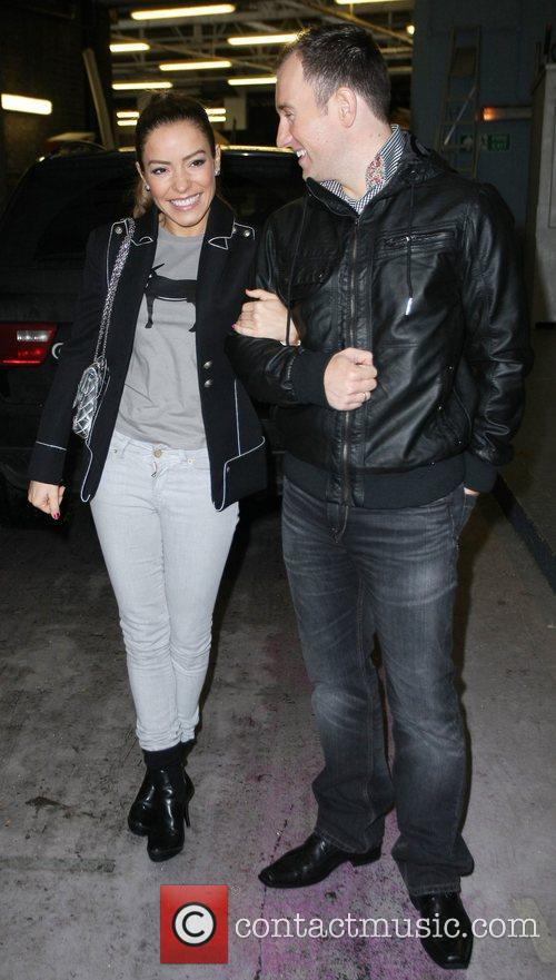 Elen Rives and her Dance partner Lukasz Rozycki...