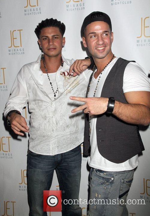 Paul DelVecchio aka DJ Pauly D and Mike...