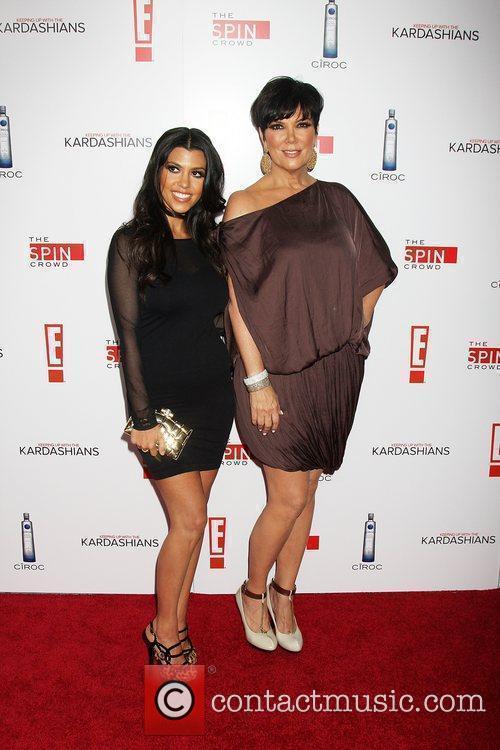 Kourtney Kardashian & Kris Jenner The Keeping Up...