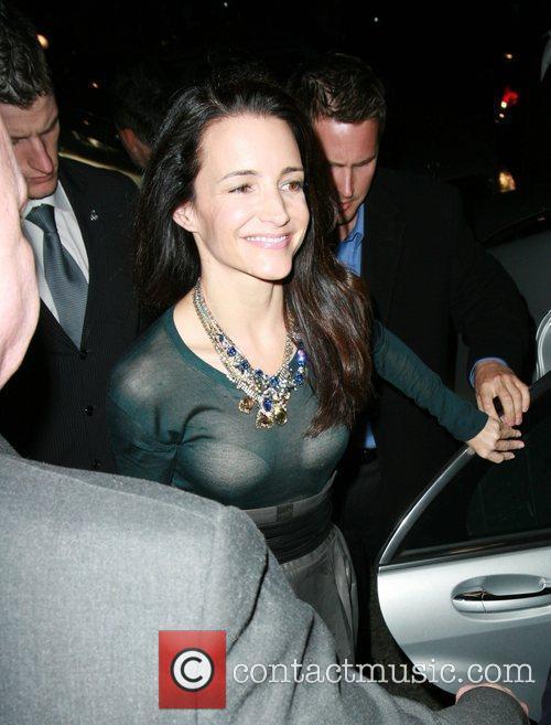 Arriving back at her hotel