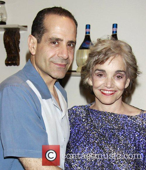 Tony Shalhoub, Brooke Adams, Times Square
