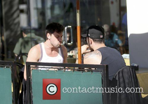 Maksim Chmerkovskiy was spotted having lunch with a...