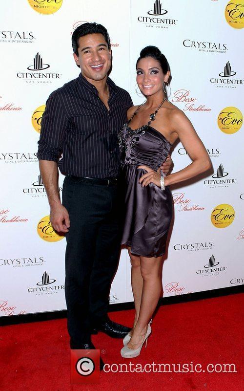Mario Lopez and Courtney Mazza Mario Lopez Hosts...