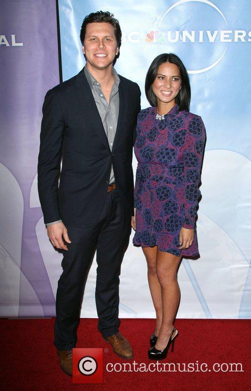 Hayes Macarthur and Olivia Munn 2