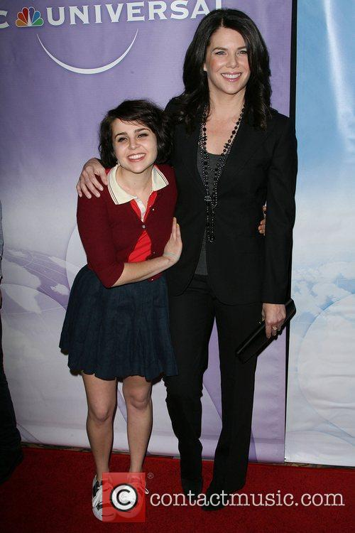 Mae Whitman and Lauren Graham 10