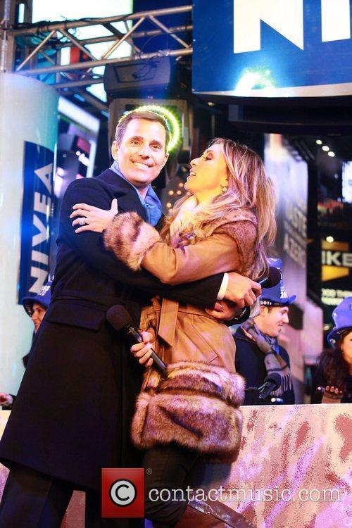 Bill Rancic, Giuliana Rancic  during the New...