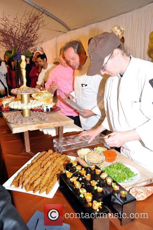 Chef, Wolfgang Puck at the Oscar Food and...