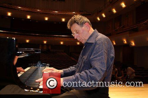 Rehearses at City Recital Hall ahead of his...