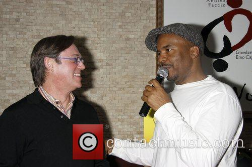 Richard Thomas and David Alan Grier attend the...