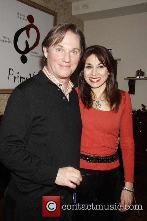 Richard Thomas and Valerie Smaldone attend the Richard...