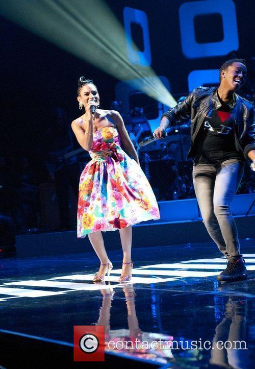 Goapele, Dionne Farris  Soul Train Awards held...