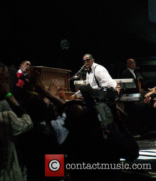 R. Kelly Soul Train Awards held at the...