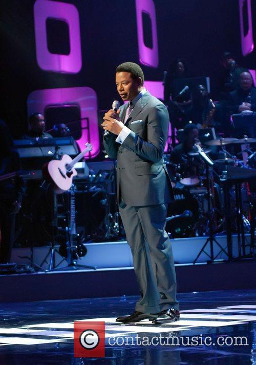 Terrence Howard Soul Train Awards held at the...