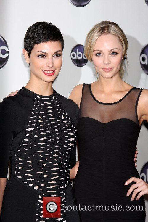 Morena Baccarin, Laura Vandervoort The Disney ABC Television...