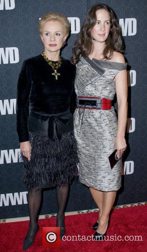 Carolina Hererra and Patricia Hererra The Women's Wear...