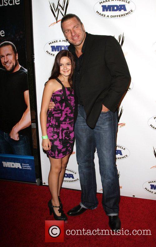 Ariel Winter and WWE Superstar Triple H...