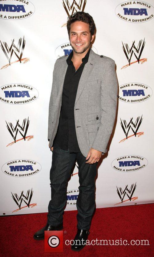 Brandon Barash WWE and the Muscular Dystrophy Association...
