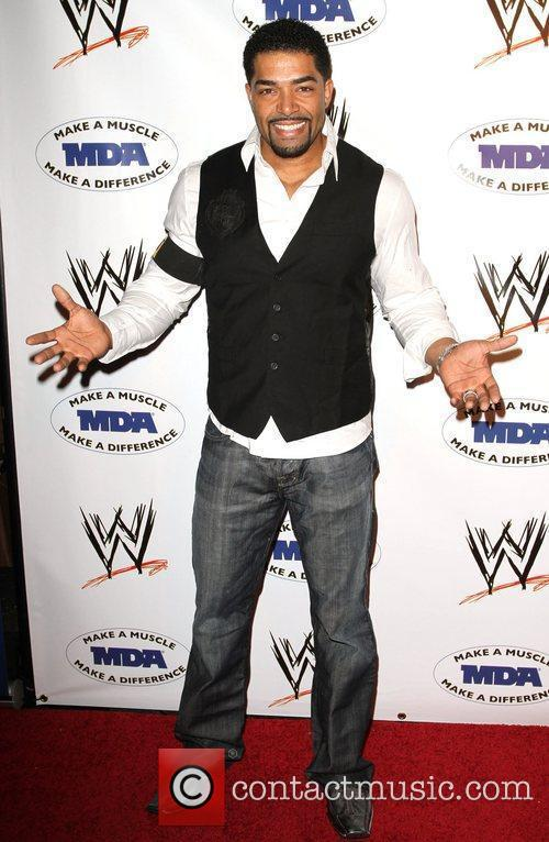 David Otunga WWE and the Muscular Dystrophy Association...