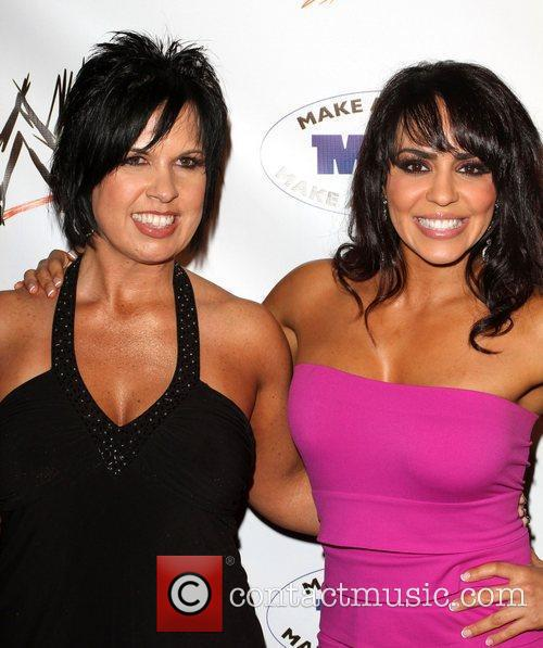 Divas Layla and Vickie Guerrero WWE and the...