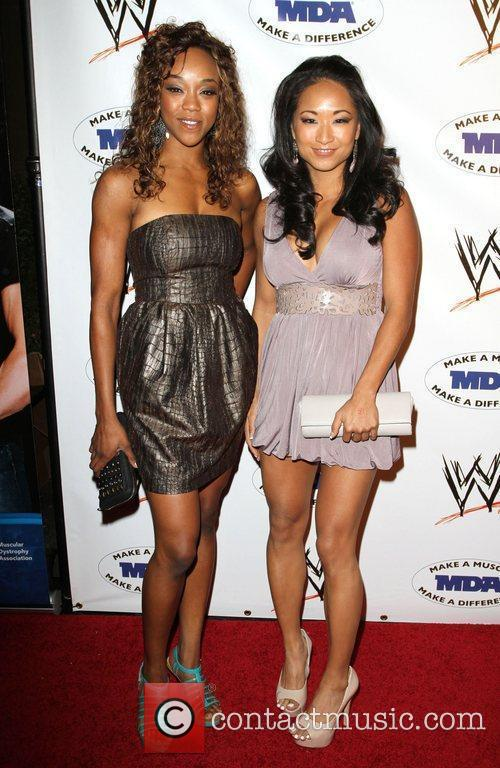 Gail Kim and Alica Fox  WWE and...