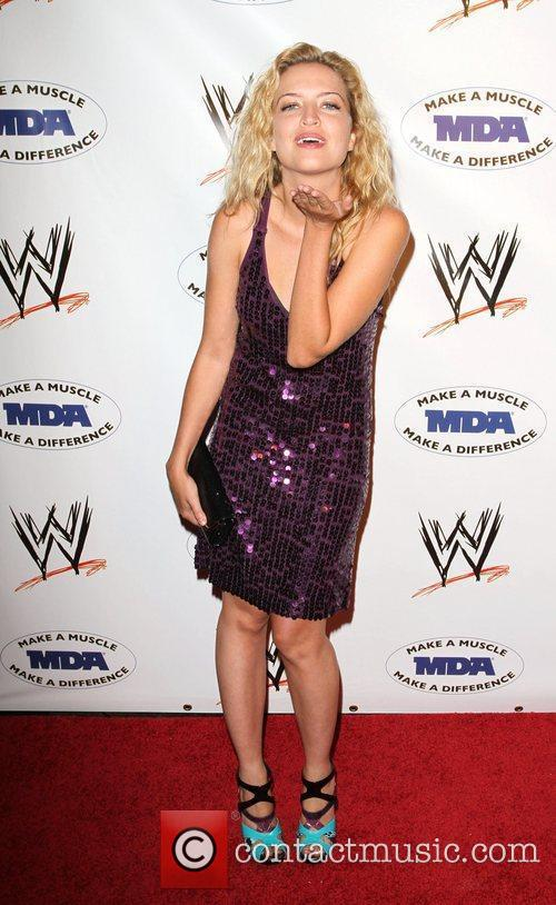 Lauren Storm WWE and the Muscular Dystrophy Association...