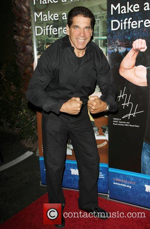 Lou Ferrigno WWE and the Muscular Dystrophy Association...