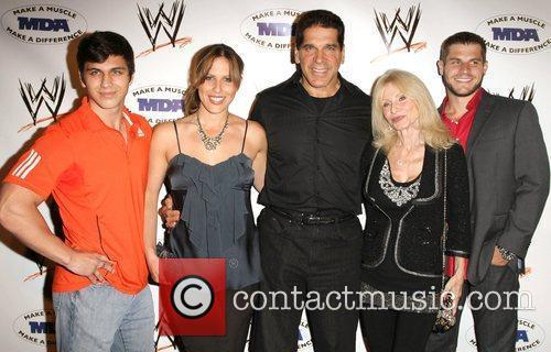 Lou Ferrigno and family  WWE and the...