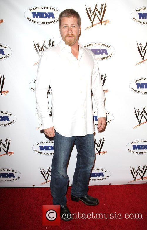 Michael Cudlitz WWE and the Muscular Dystrophy Association...