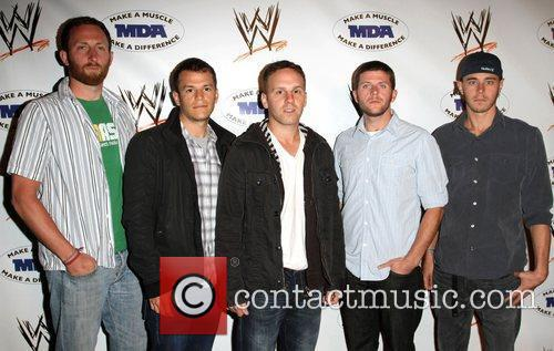 Music group Stuedabakerbrown  WWE and the Muscular...