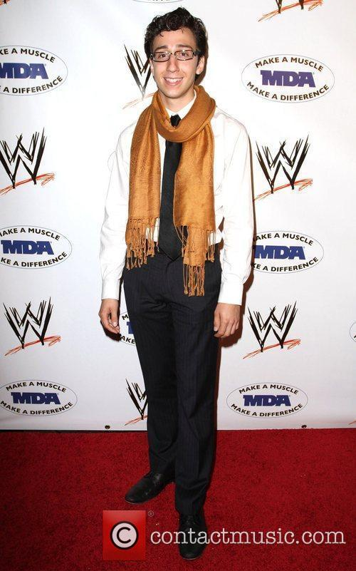 Teo Olivares WWE and the Muscular Dystrophy Association...