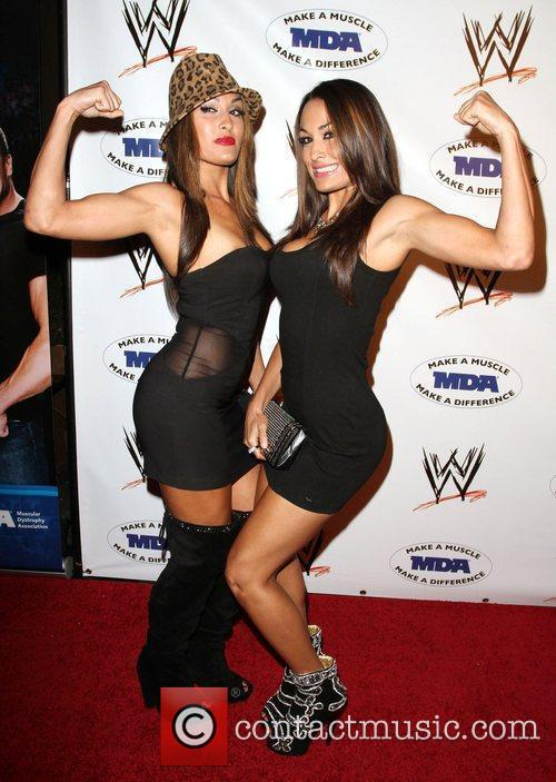 The Bella Twins, Nikki and Brie WWE and...
