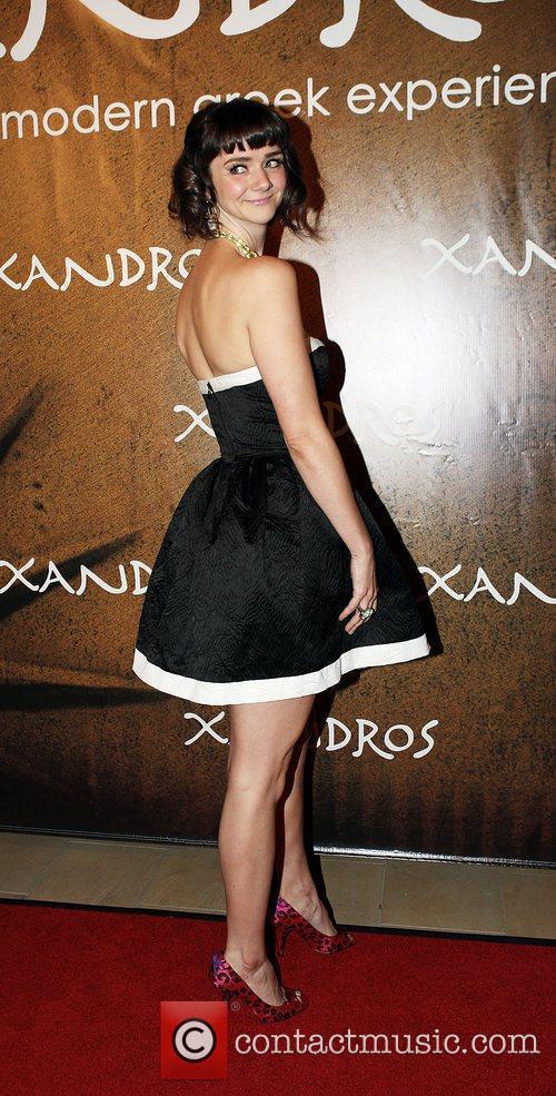 Alexandra Ella  at the opening of Xandros...