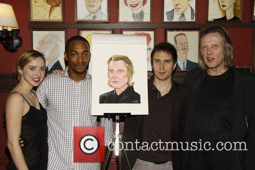 Zoe Kazan, Anthony Mackie, Christopher Walken and Sam Rockwell 3
